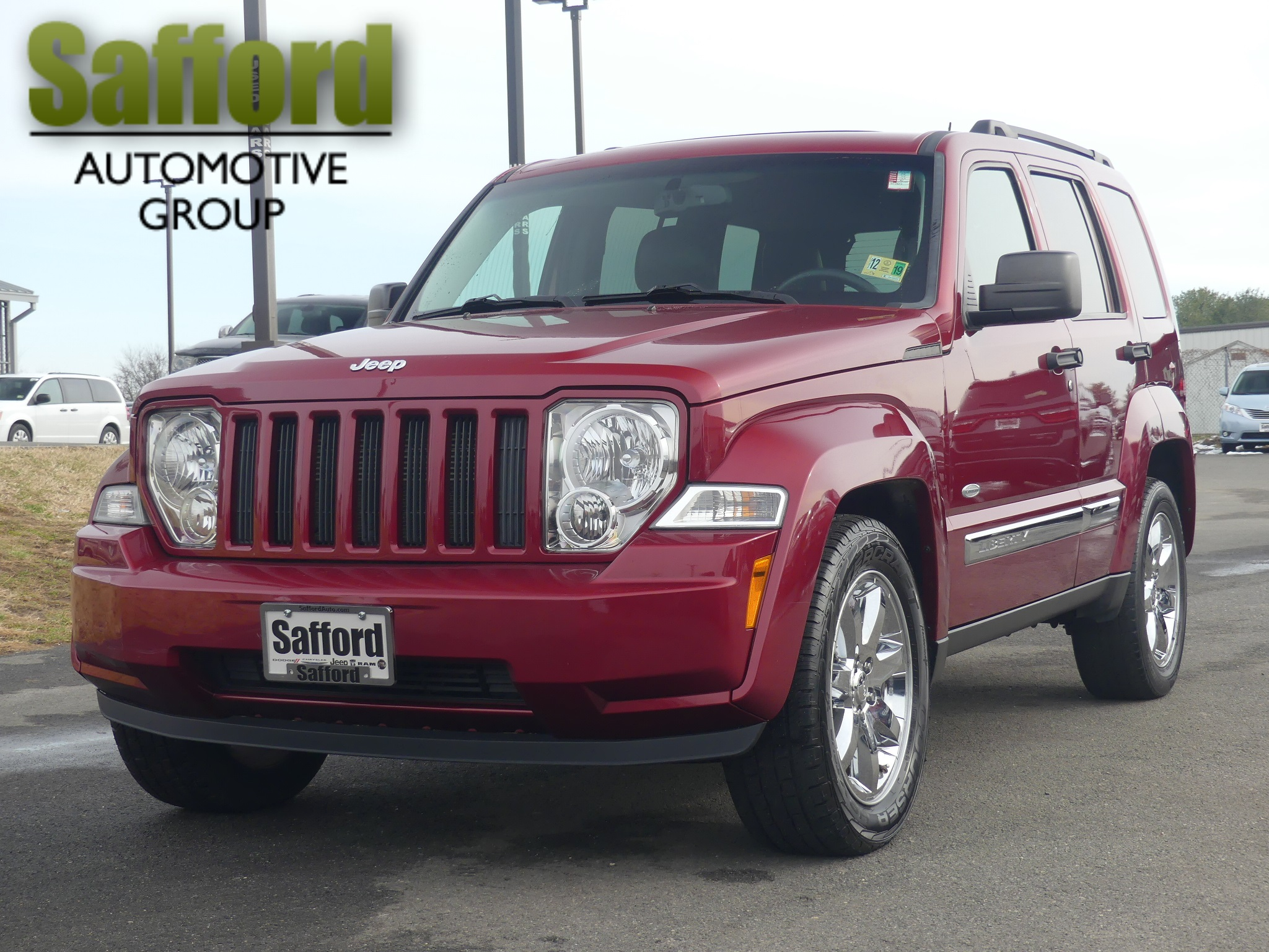 Pre-Owned 2012 Jeep Liberty LATTITUDE