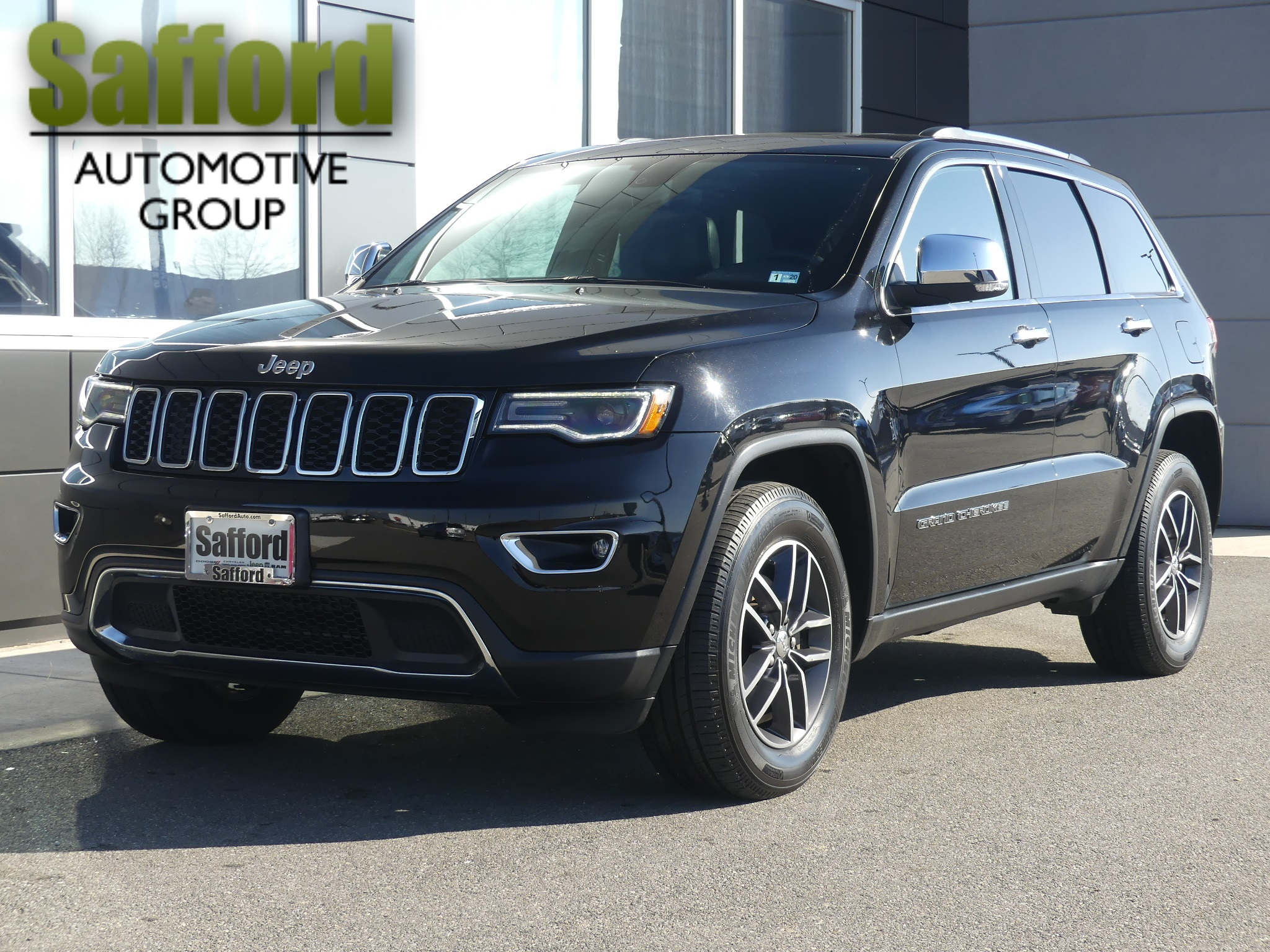 Certified Pre Owned 2017 Jeep Grand Cherokee Limited Sport Utility