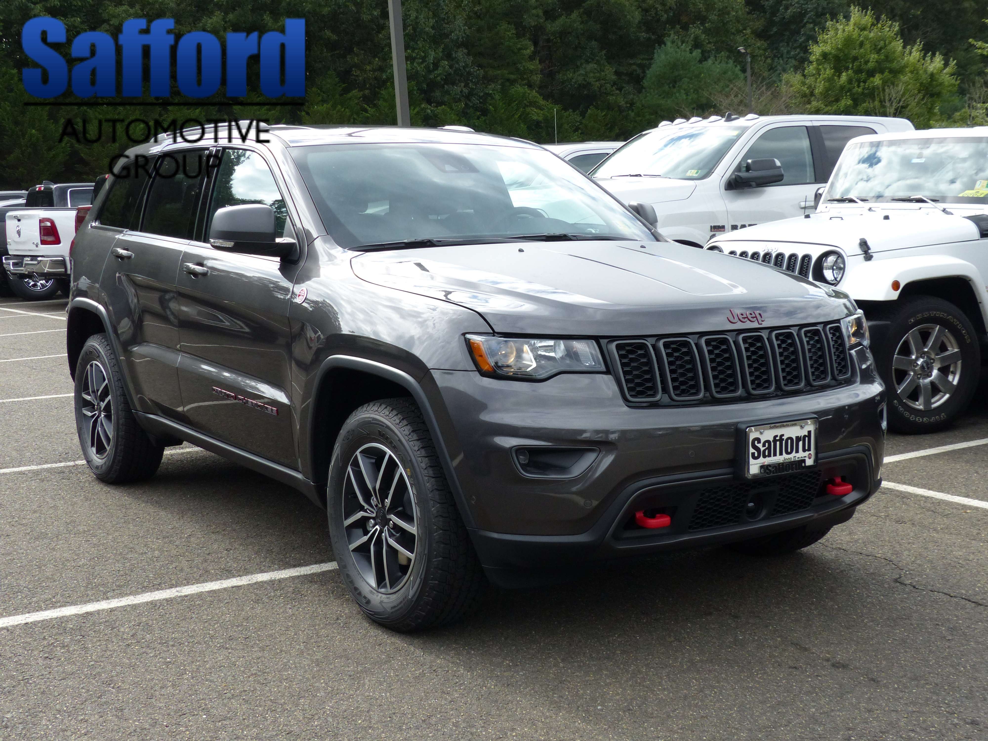 New 2019 Jeep Grand Cherokee Trailhawk Sport Utility In 2011 Leveling Kit