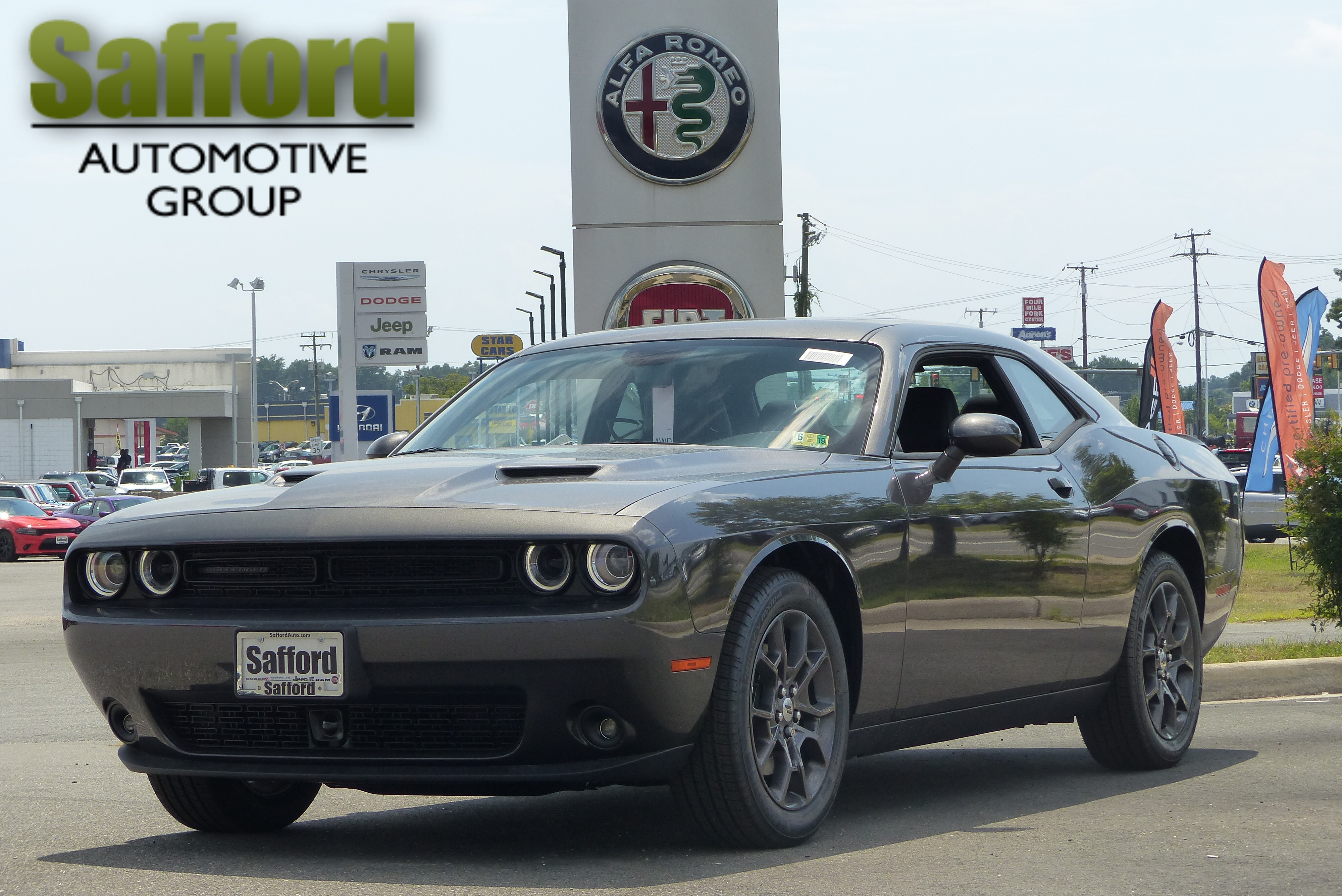 New 2018 DODGE Challenger GT Coupe in Fredericksburg JH